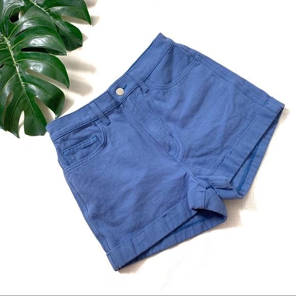 American Apparel Pants - American Apparel jean shorts